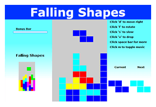 Play Falling Shapes